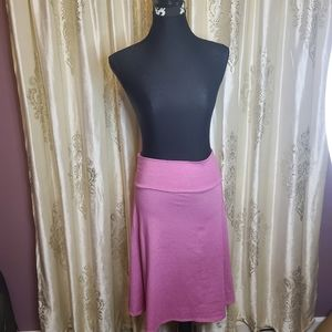 Lularoe pink skirt